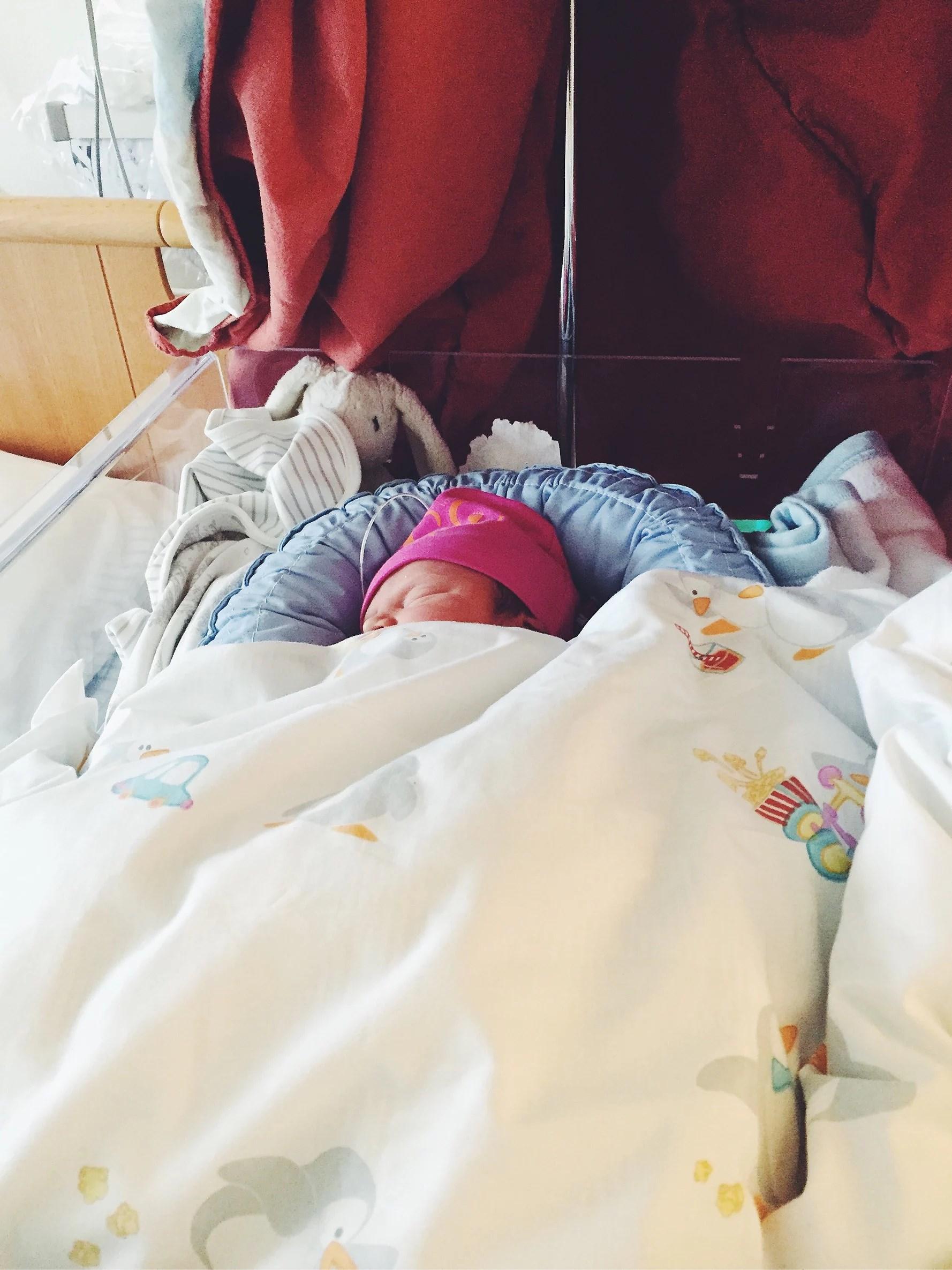 En liten tjej