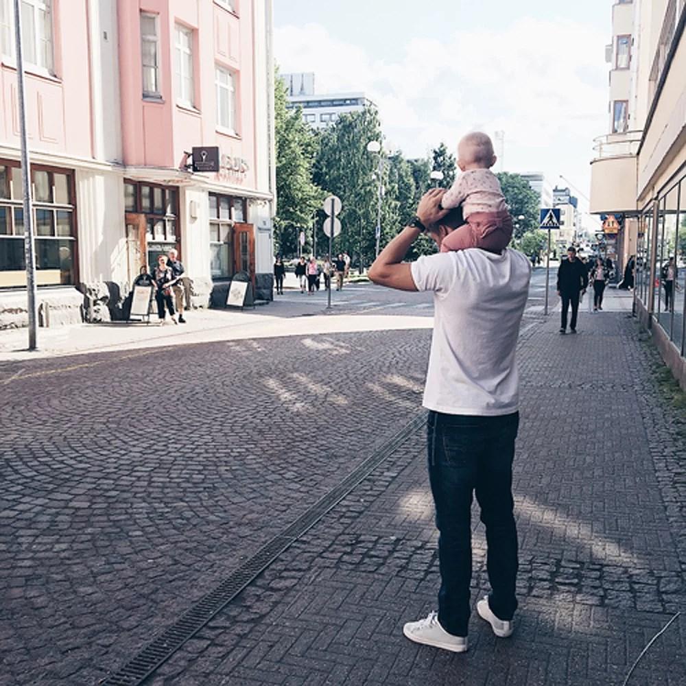 Flytten till finska staden Uleåborg..