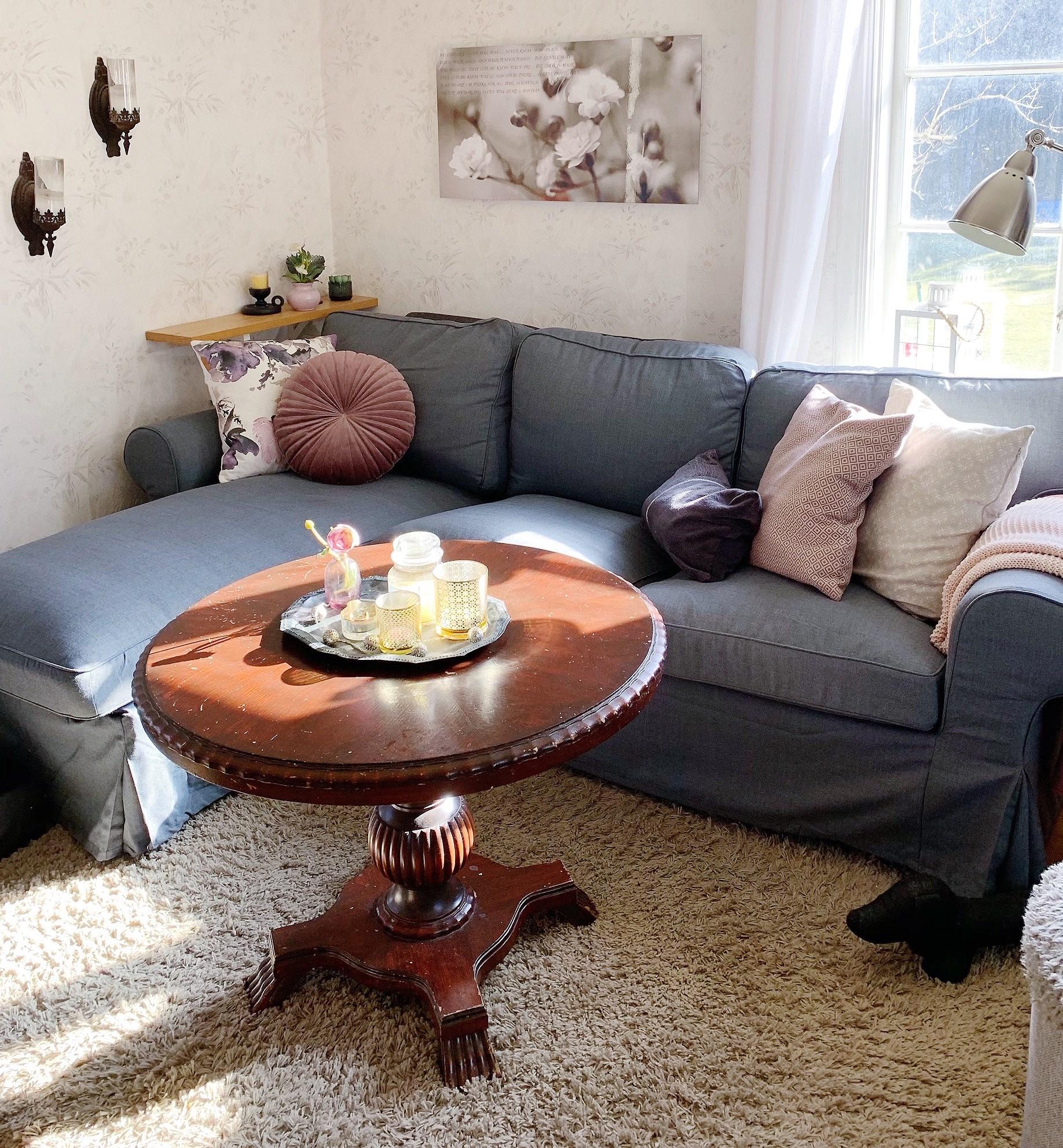En ny soffa flyttar in