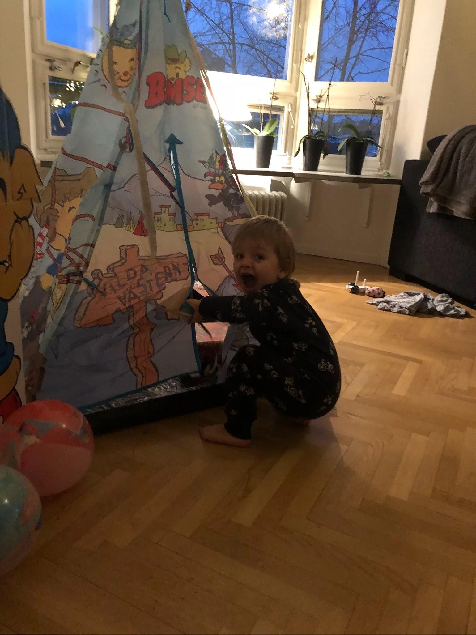Loui fyller 2 år i dag