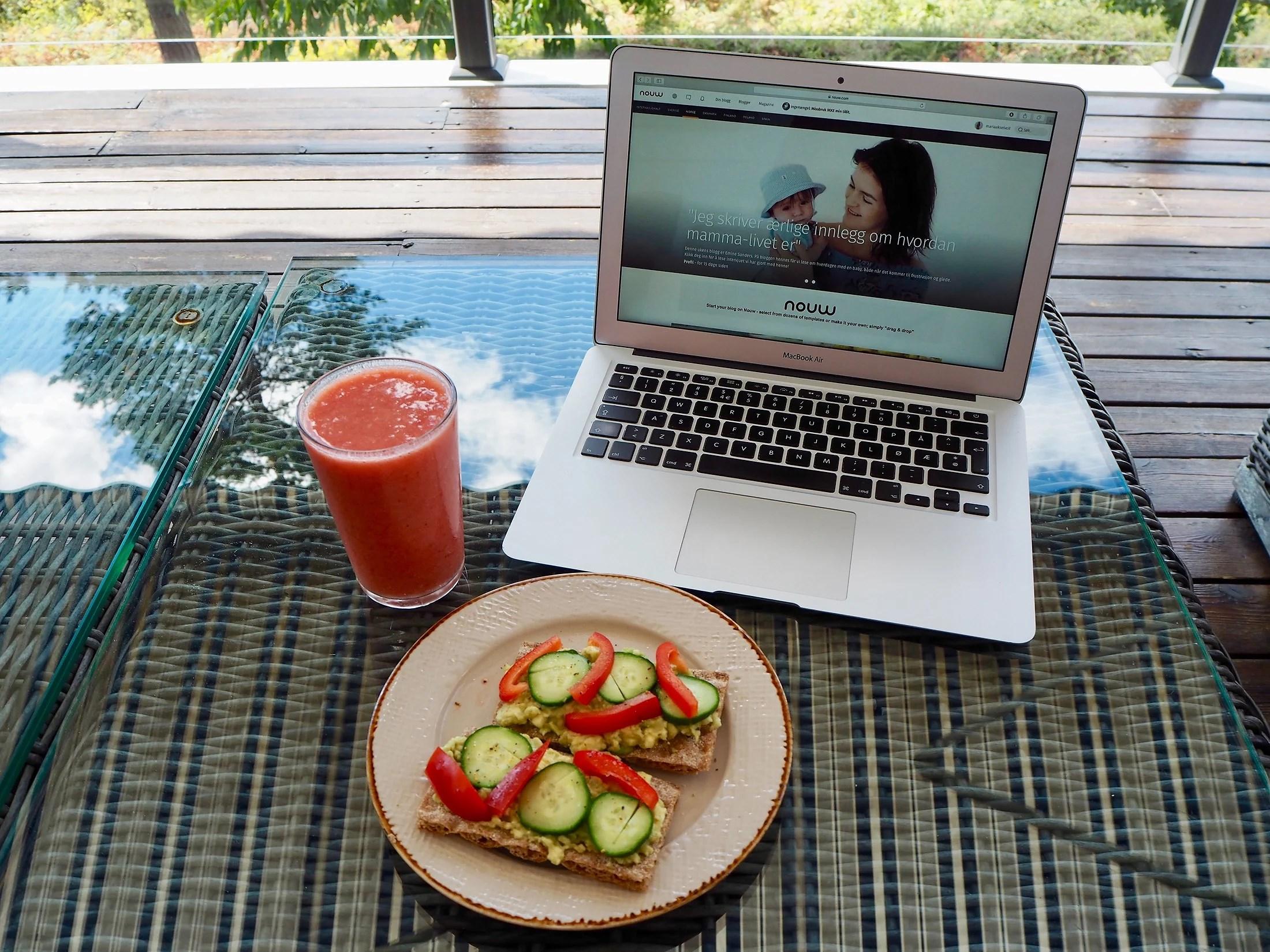 Avocado til lunsj