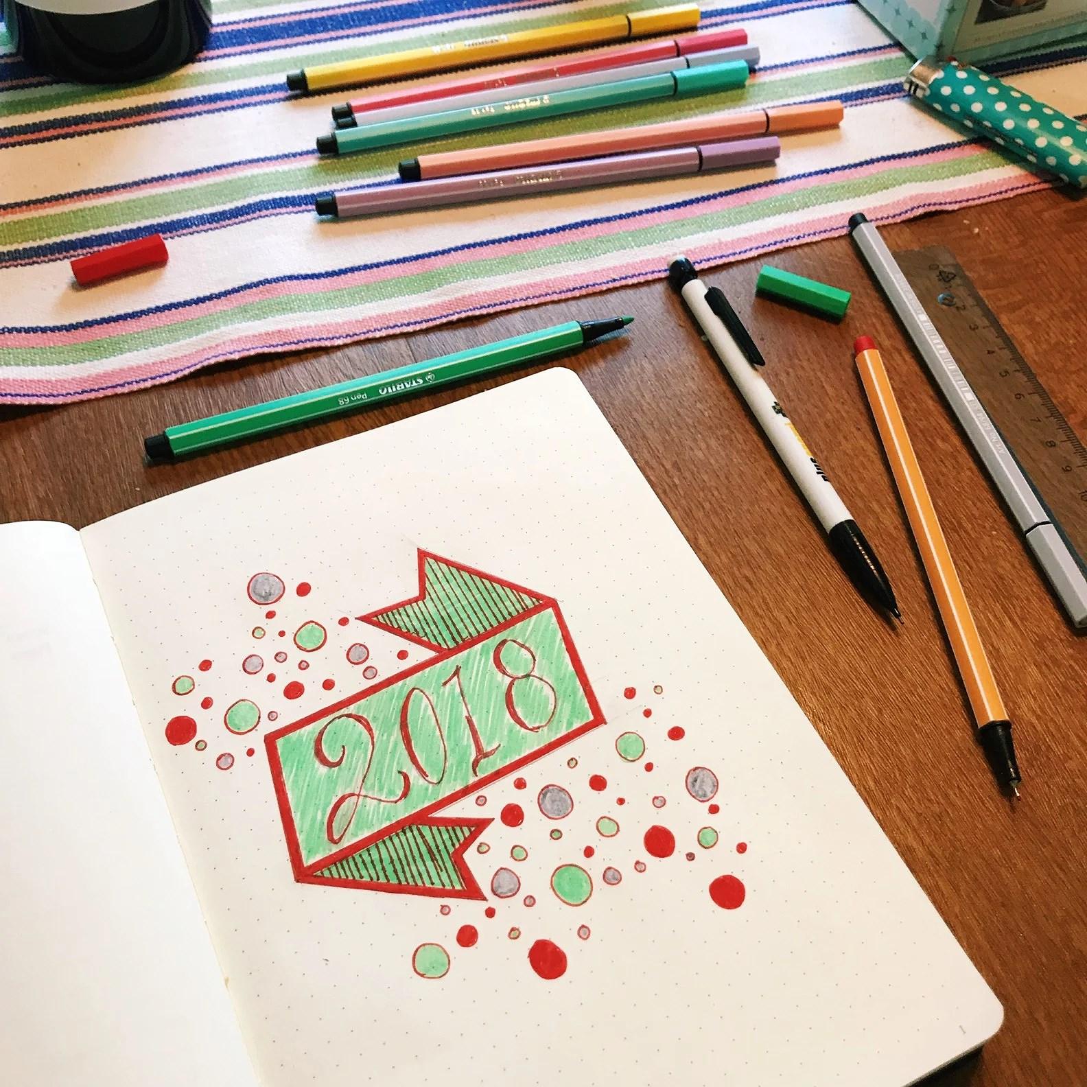 Börjat på min Bullet Journal!