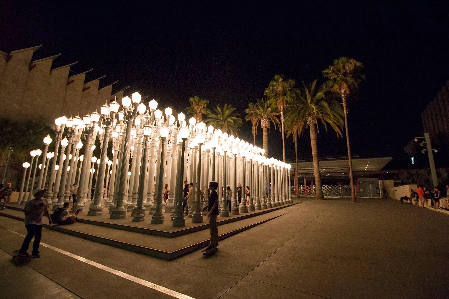 Los Angeles - Urban Light