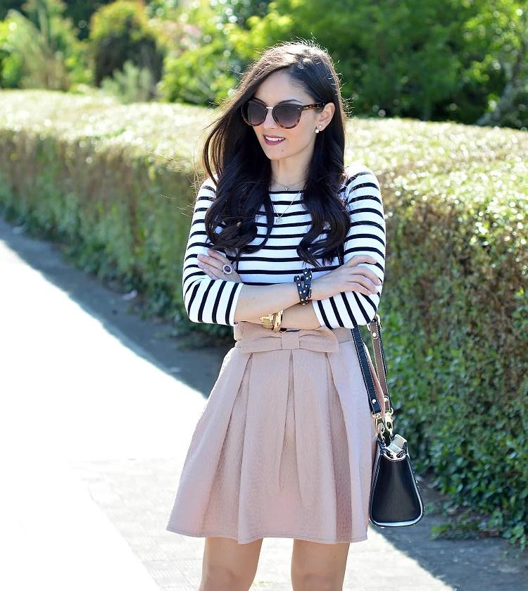 zara_chicwish_ootd_outfit_como_combinar_stripes_falda_06