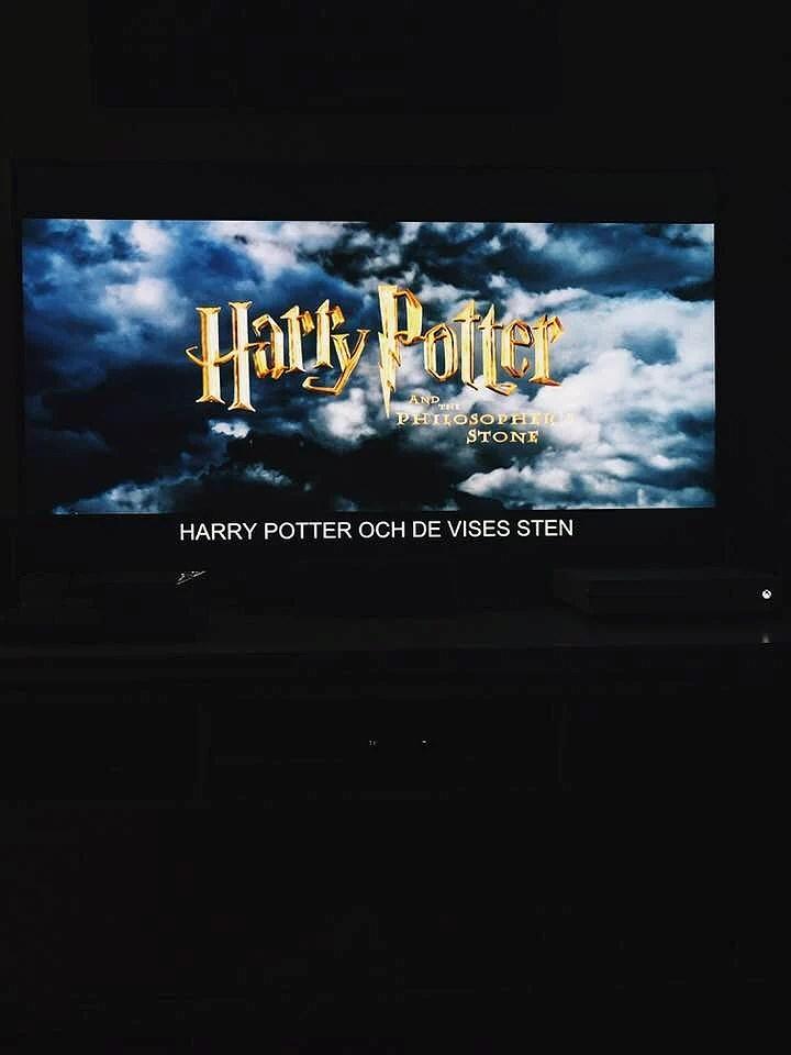 Grymt bra kväll!- Harry Potter & Mys