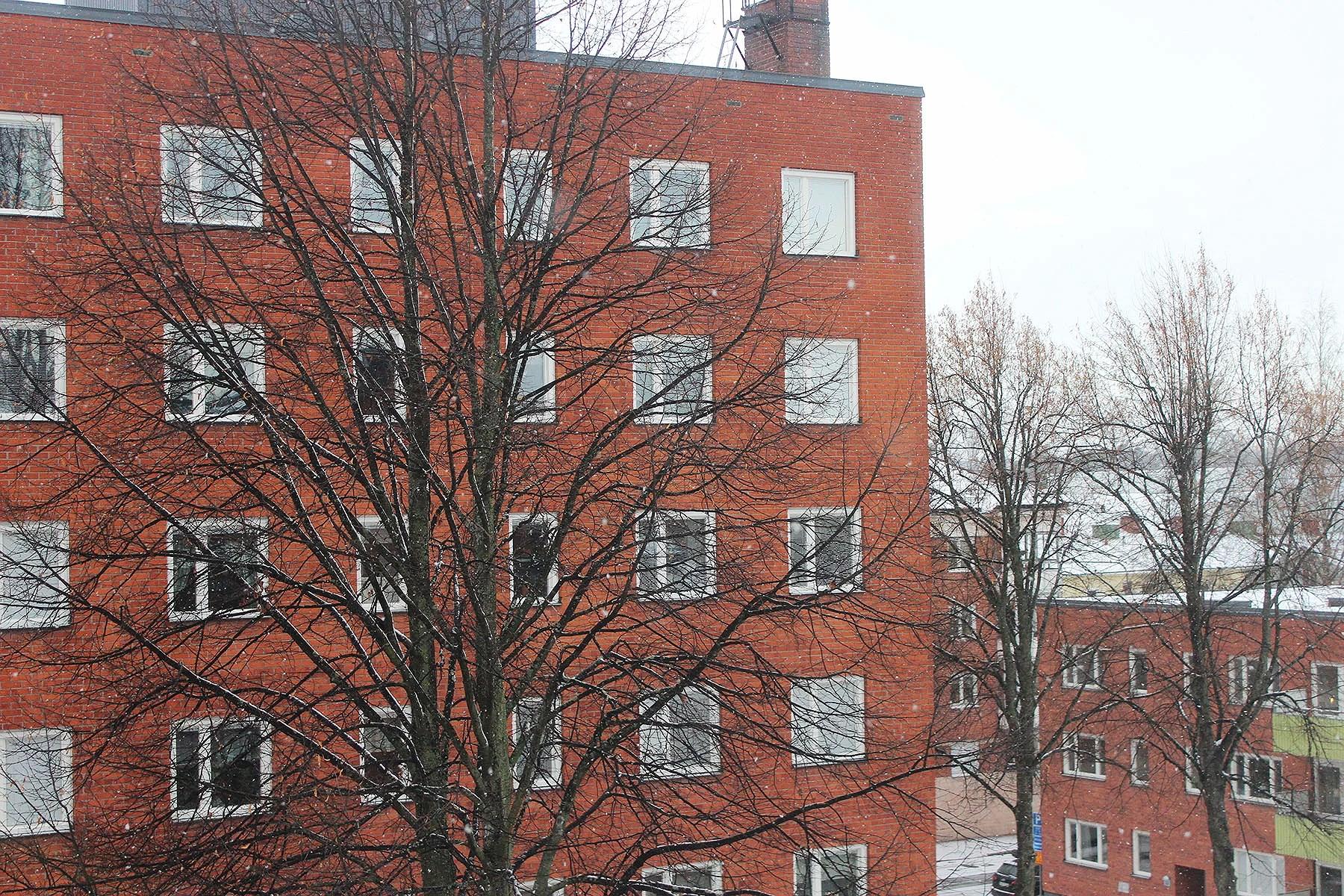 Ett snöigt Sverige