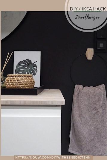 Helt nye DIY Hånklehenger - Ikea Hack | diywithbenedictehn FM-05