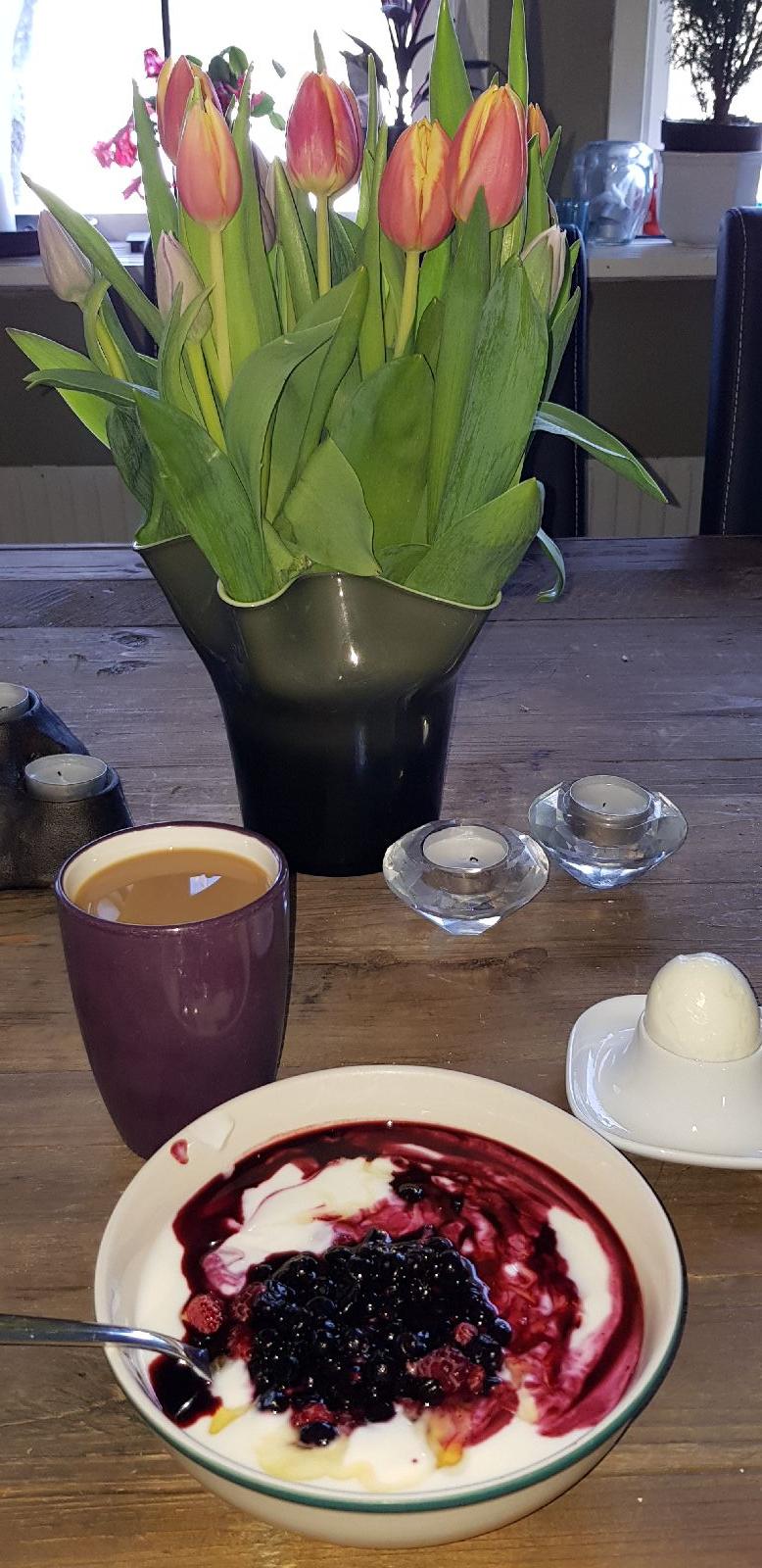 Favorit frukost gjorde en bra morgon ännu bättre