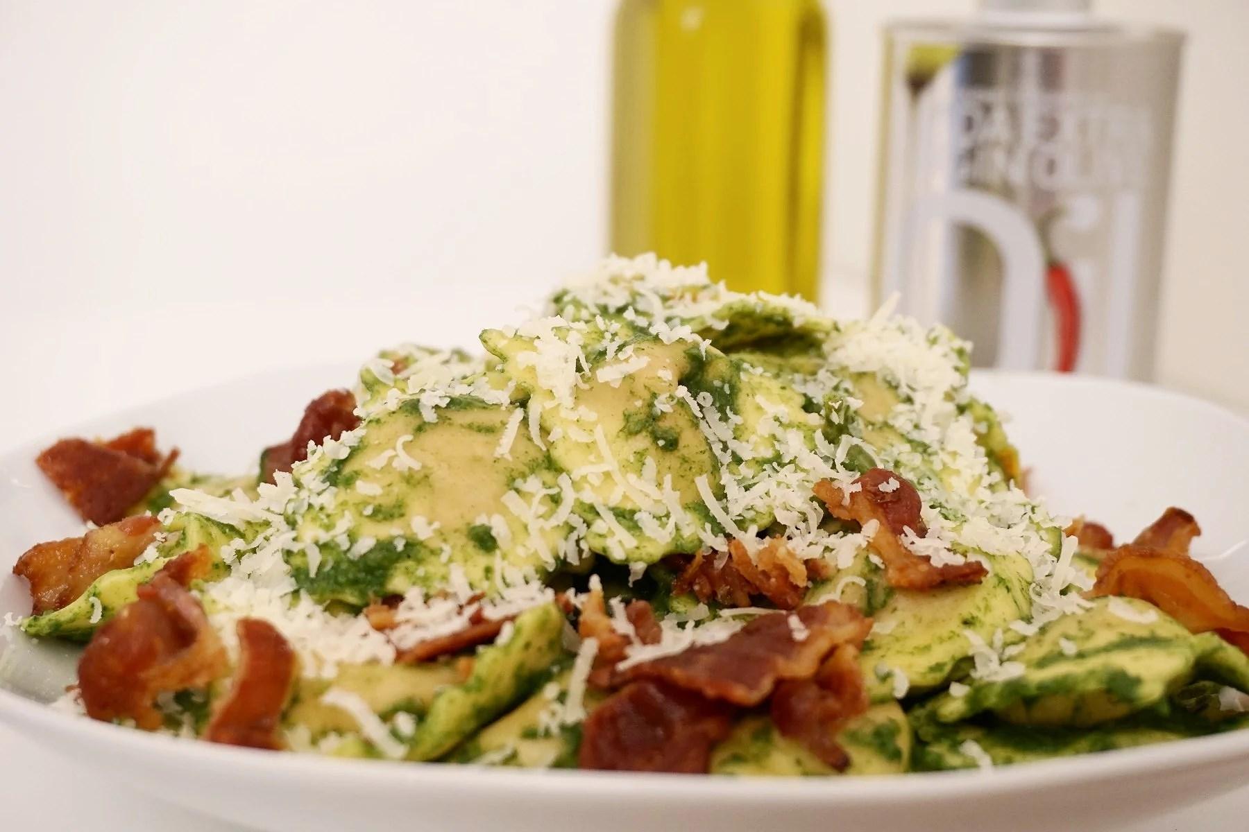 Delicious Spinach Pasta (EN/NO)