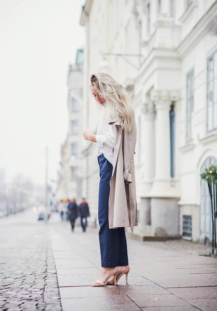 Put your coat on