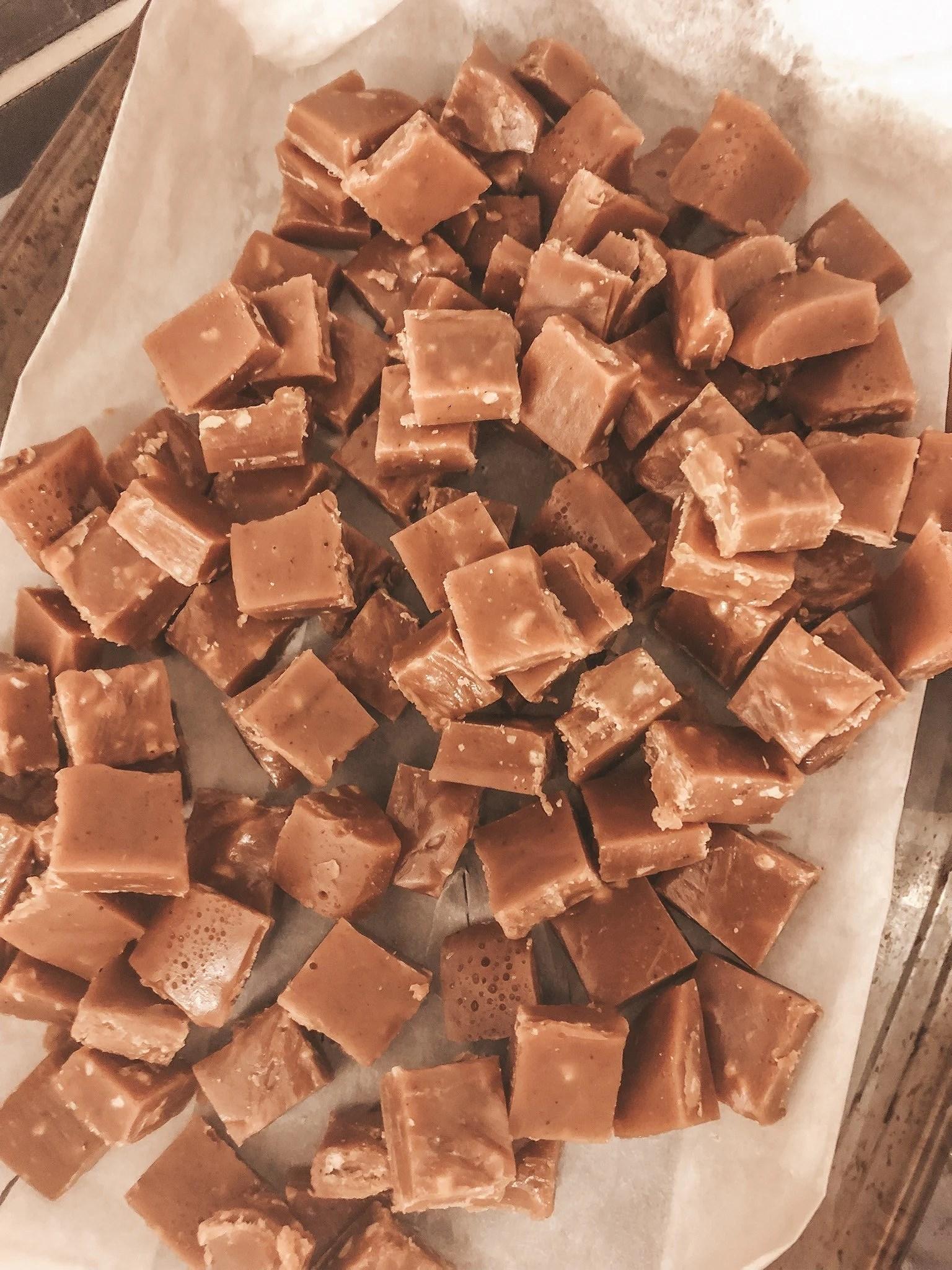 Recept - pepparkakskola