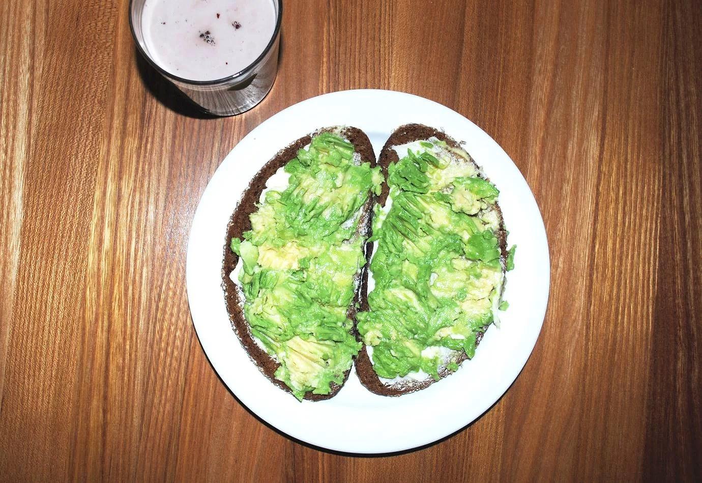 Avokadofrukost