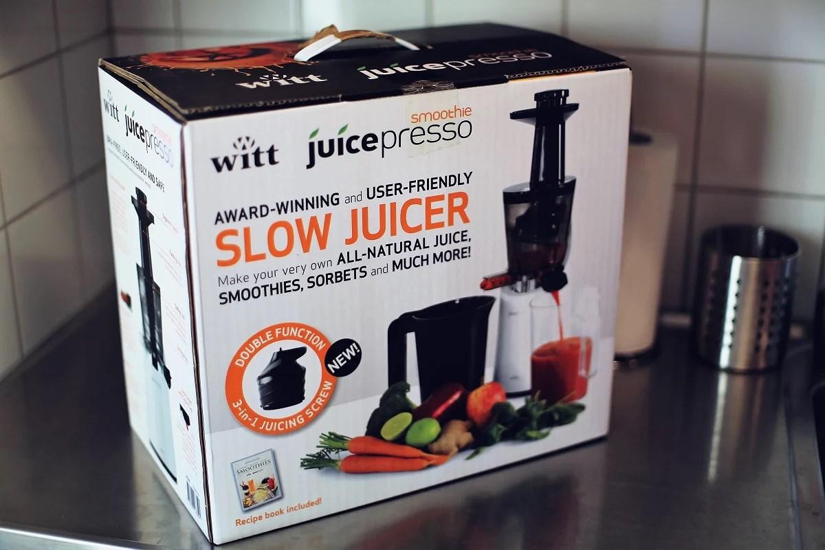en juice om dagen...