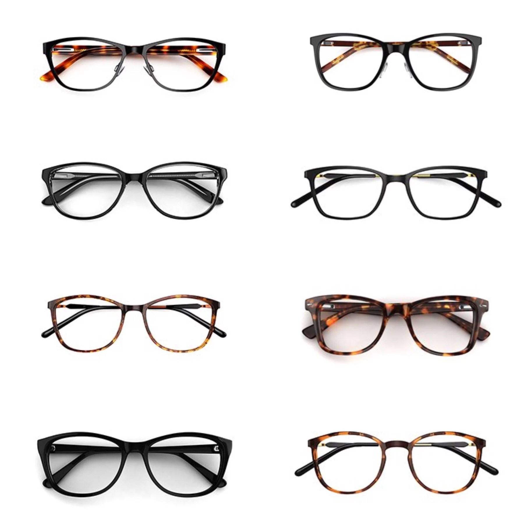 Välja nya glasögon