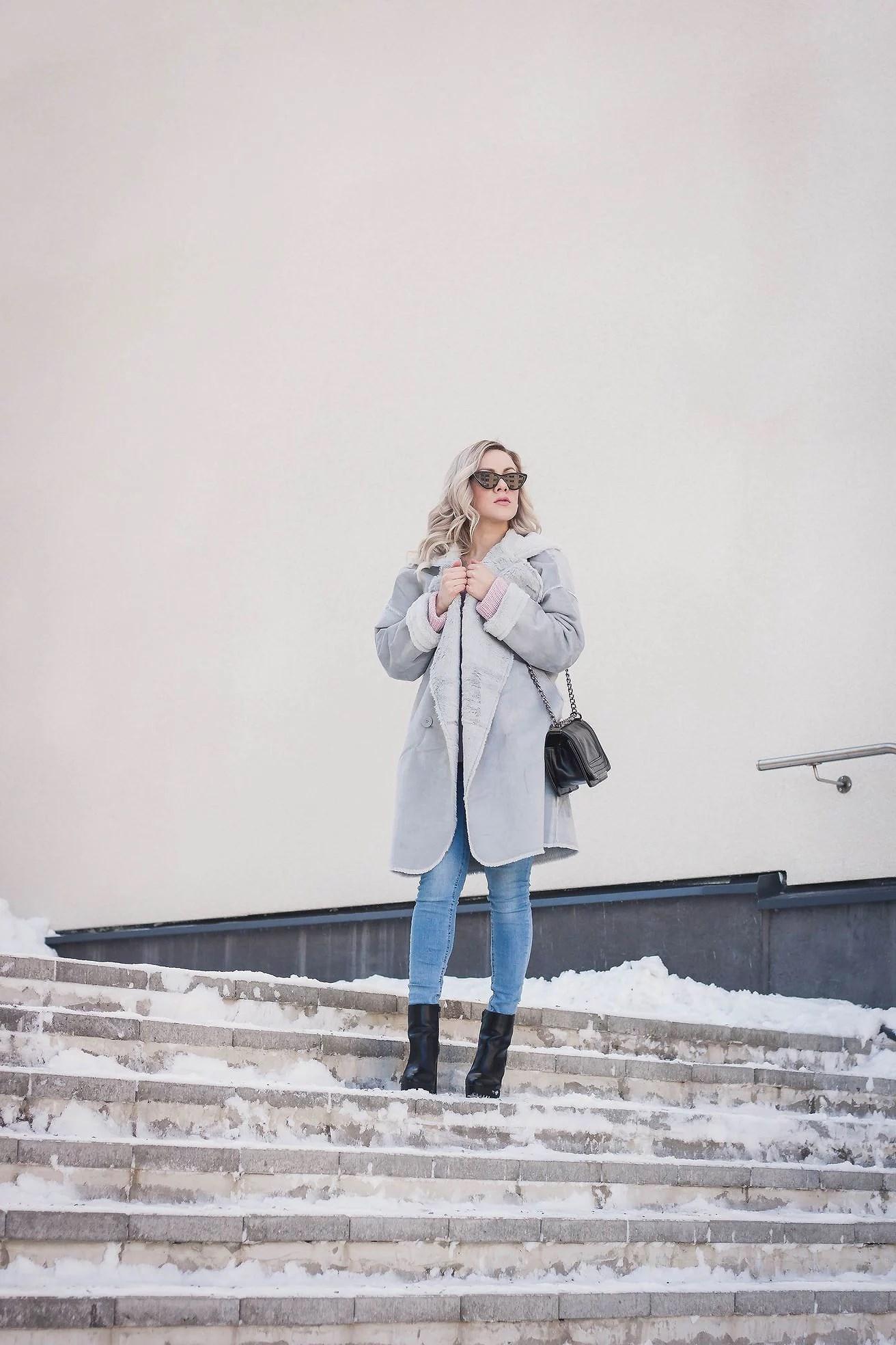 Cozy oversize coat