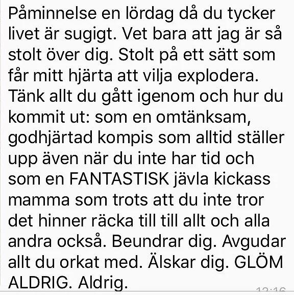 VILKA FANTASTISKA VÄNNER..