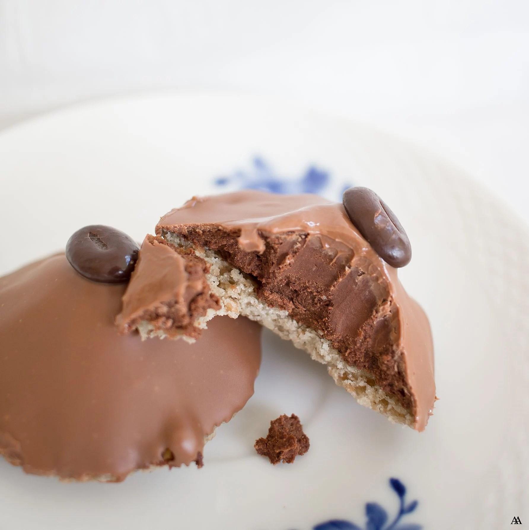 Chokladbiskvier med Kaffe