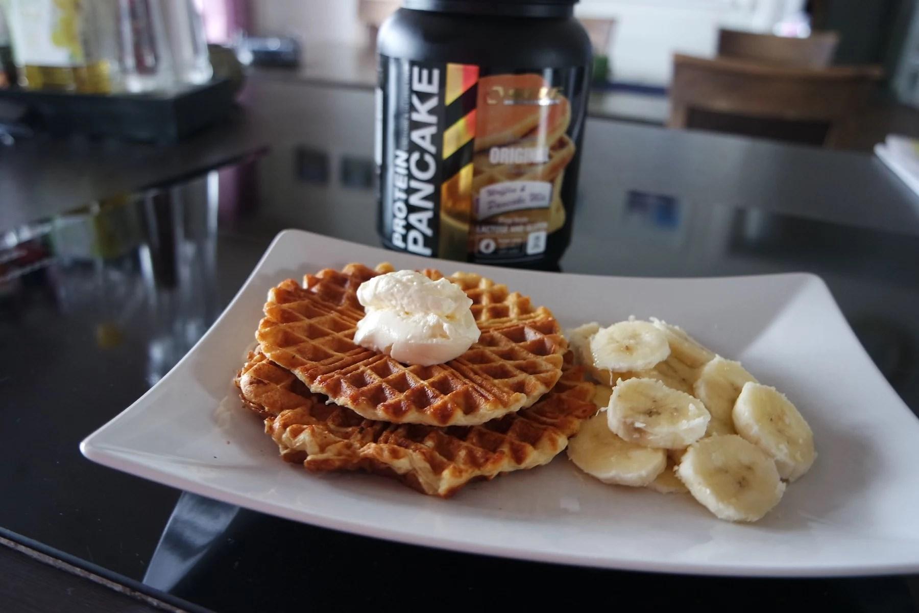 Proteinvåfflor