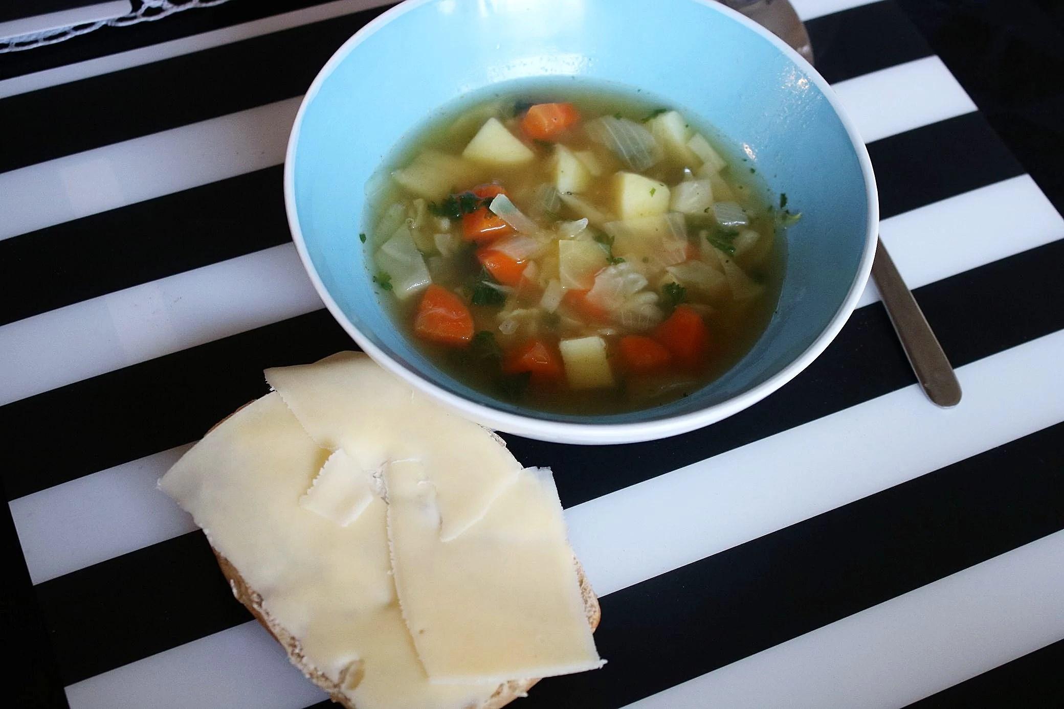 Recept på godaste grönsakssoppan