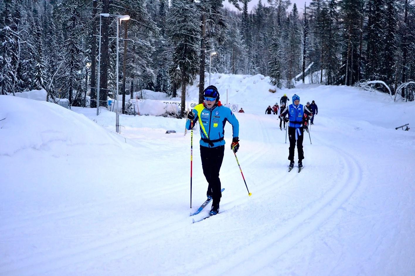 Avstod sprinten idag!