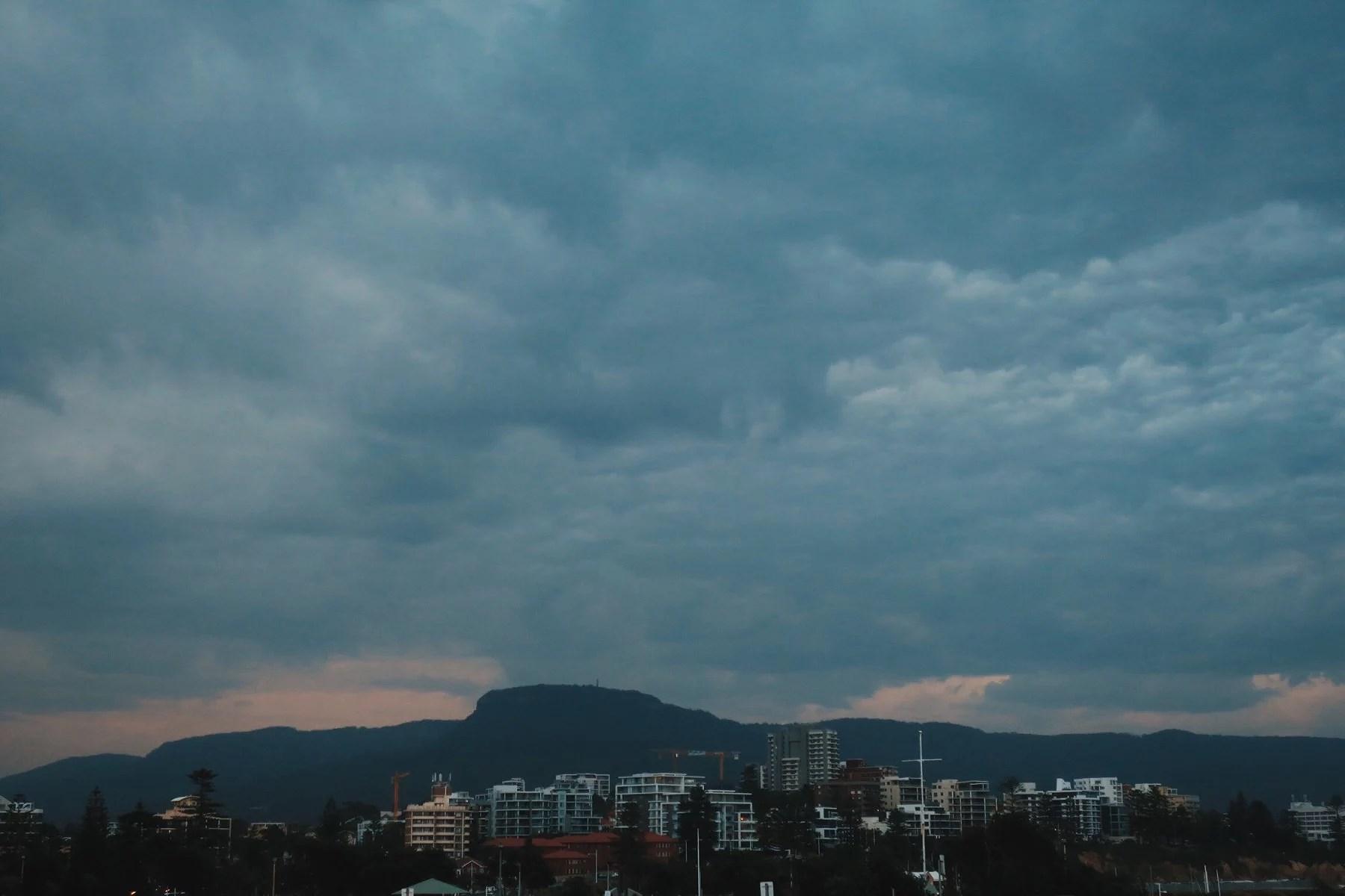 Hej från ett regnigt Wollongong