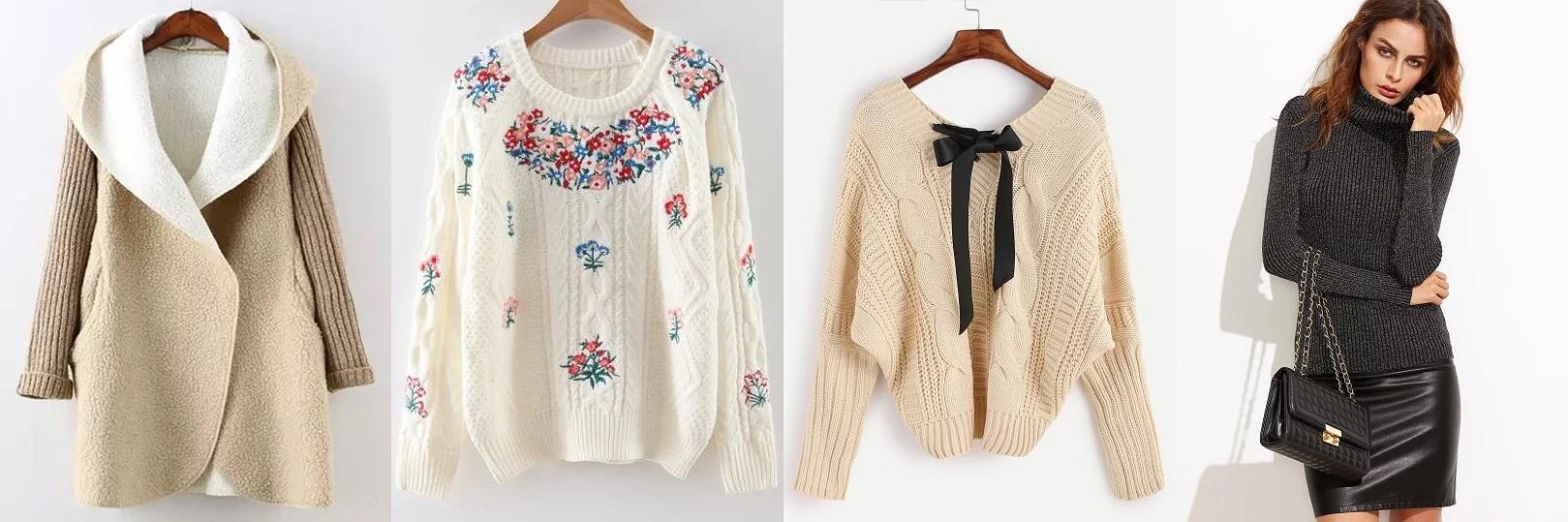 Inspiracje jesienne - swetry