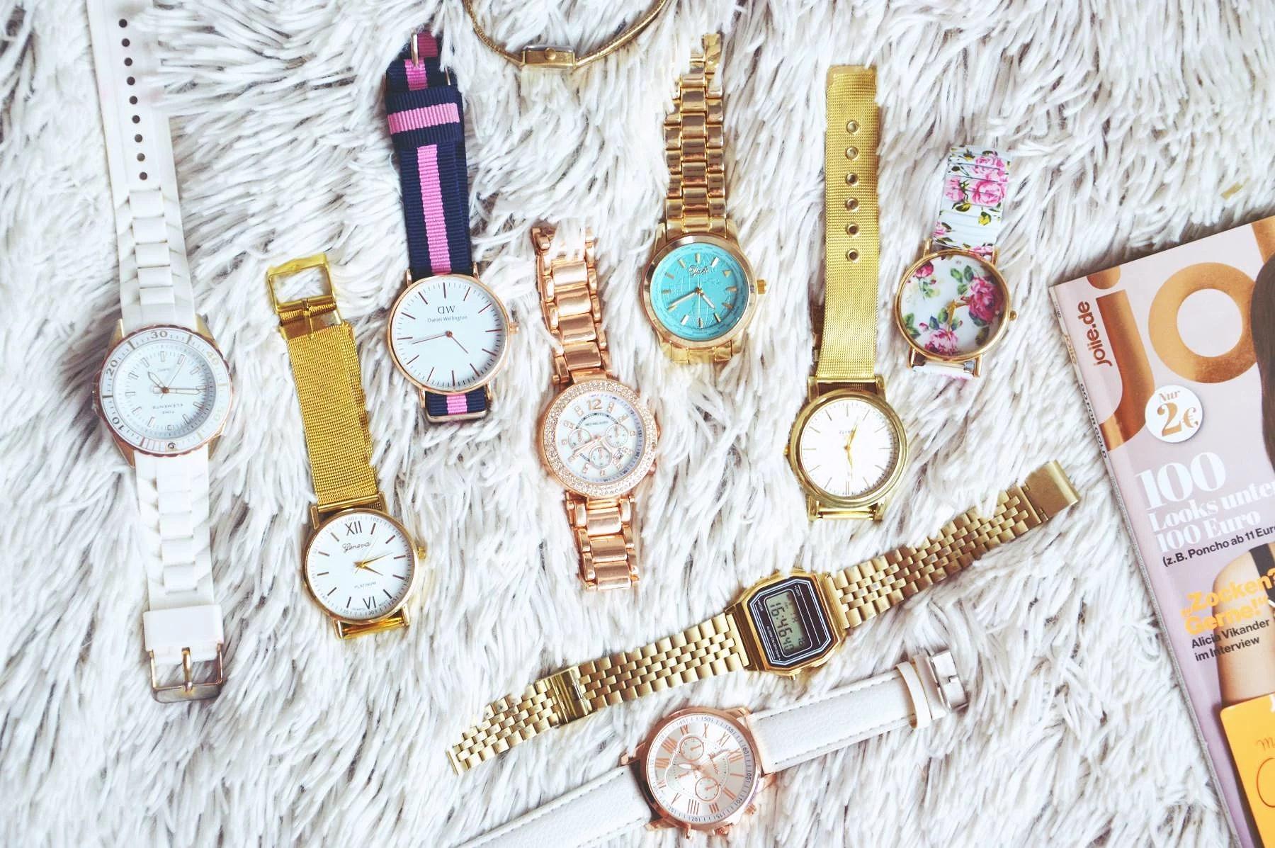 Moja kolekcja zegarków