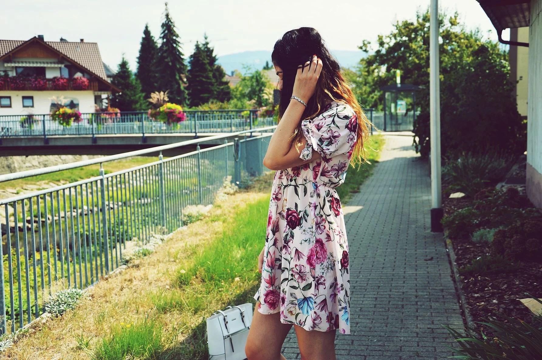Floral Print LOVE