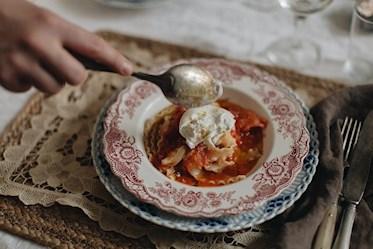 Sofia Wood - pasta med tomatsås