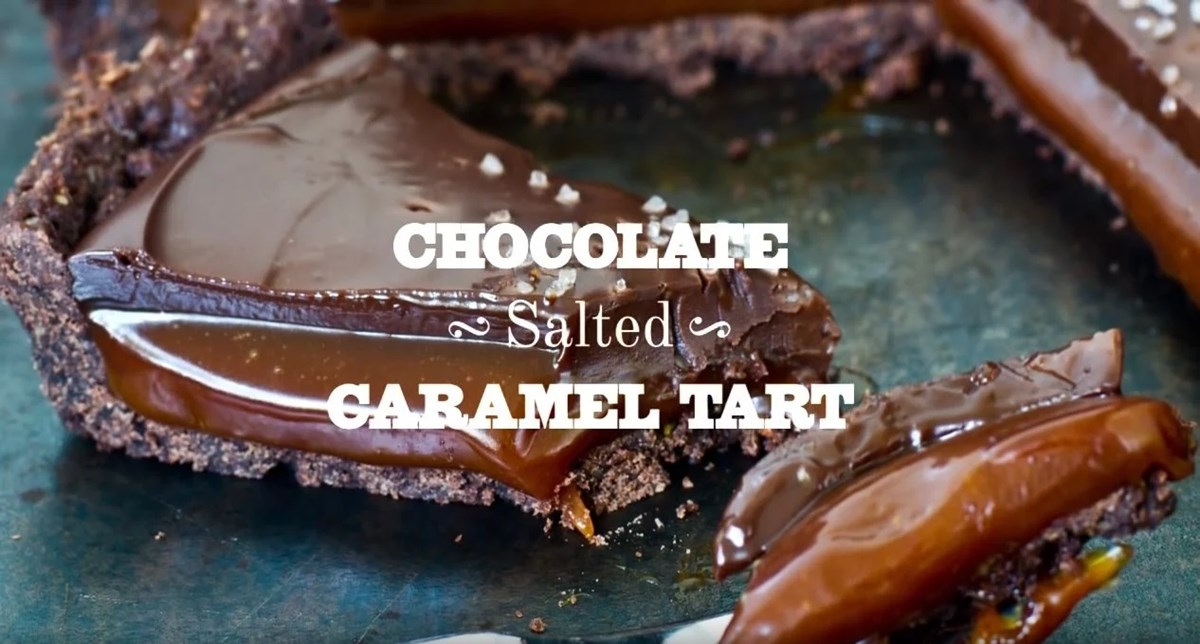 Recept: Chocolate Salted Caramel Tart Recipe
