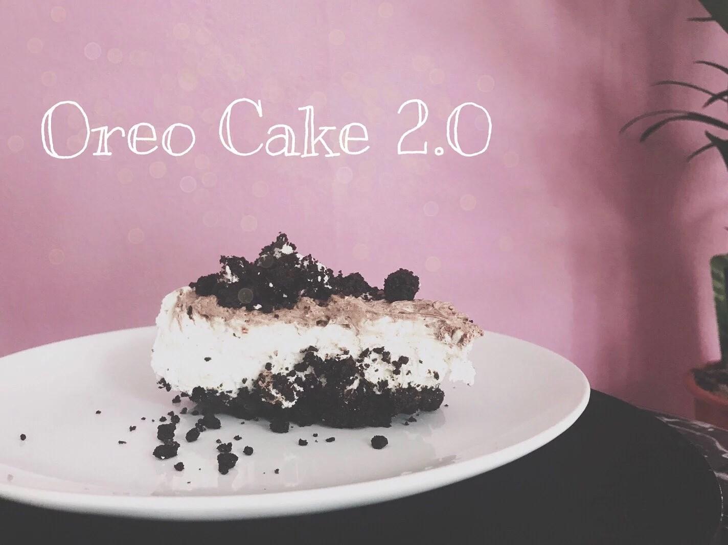 Oreo Cake 2 0 Vegan Ohne Backen Rosywood