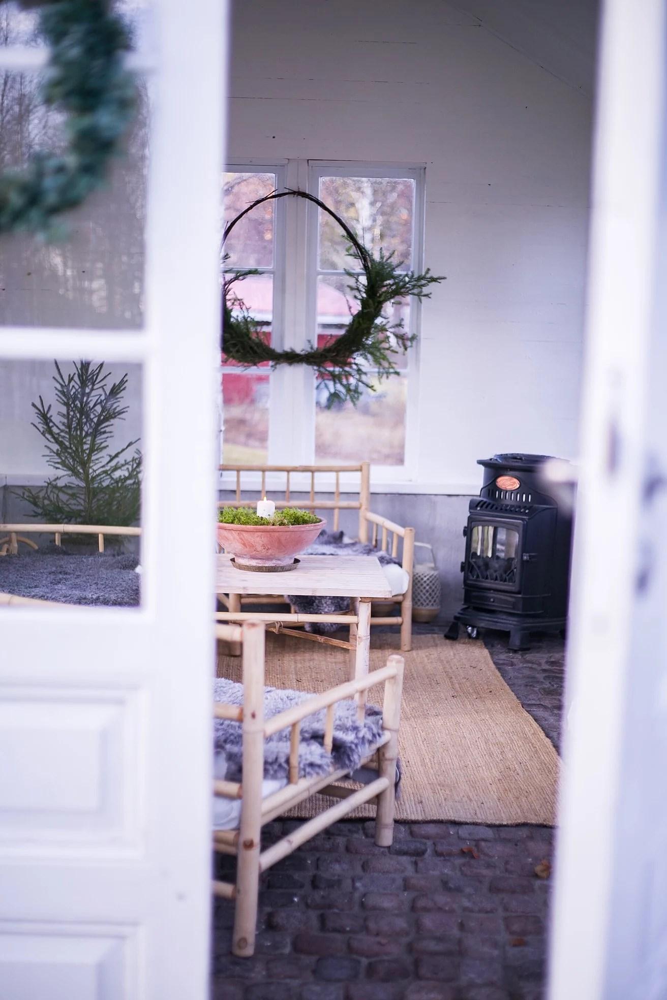 Vinterfint i orangeriet