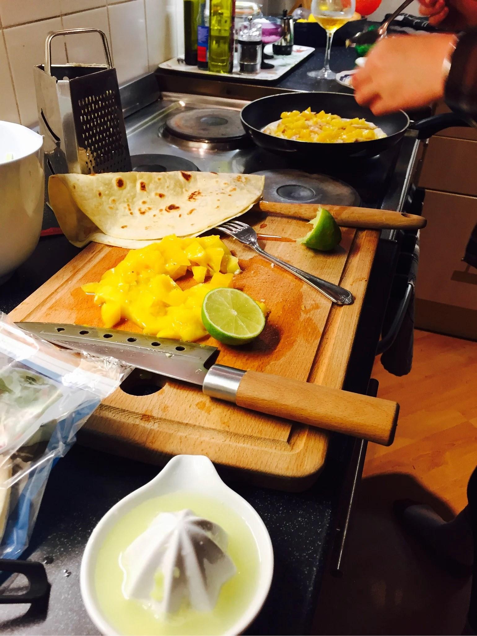 Gårdagens utsökta middag