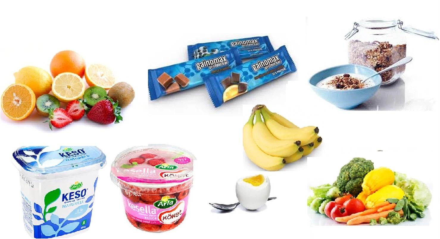 mat före träning recept
