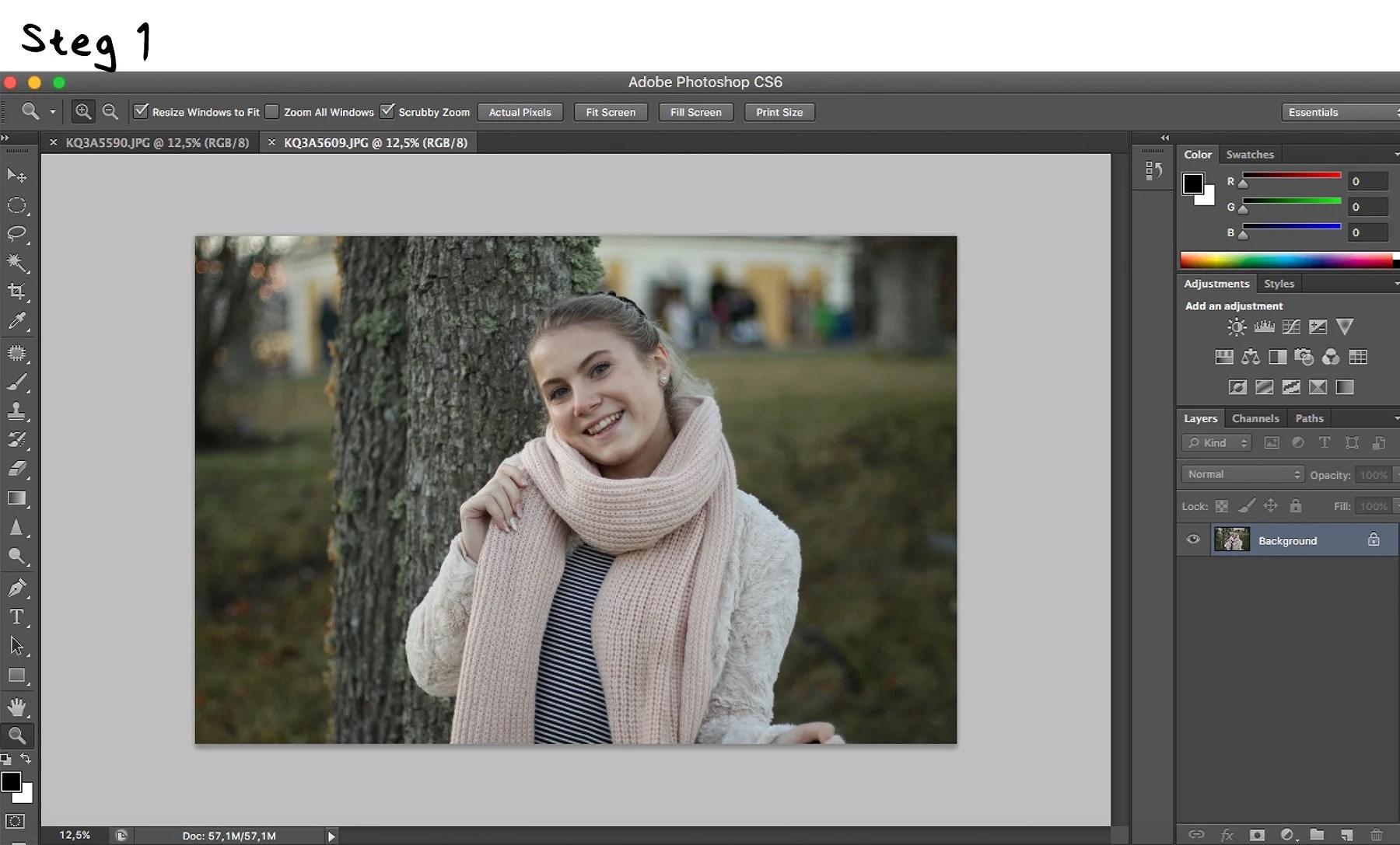 Hur jag redigerar mina bilder