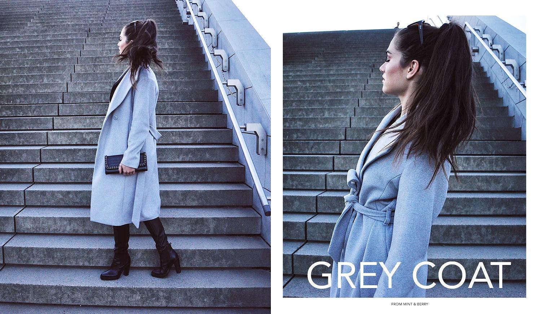 grey coat ilirida mint and berry