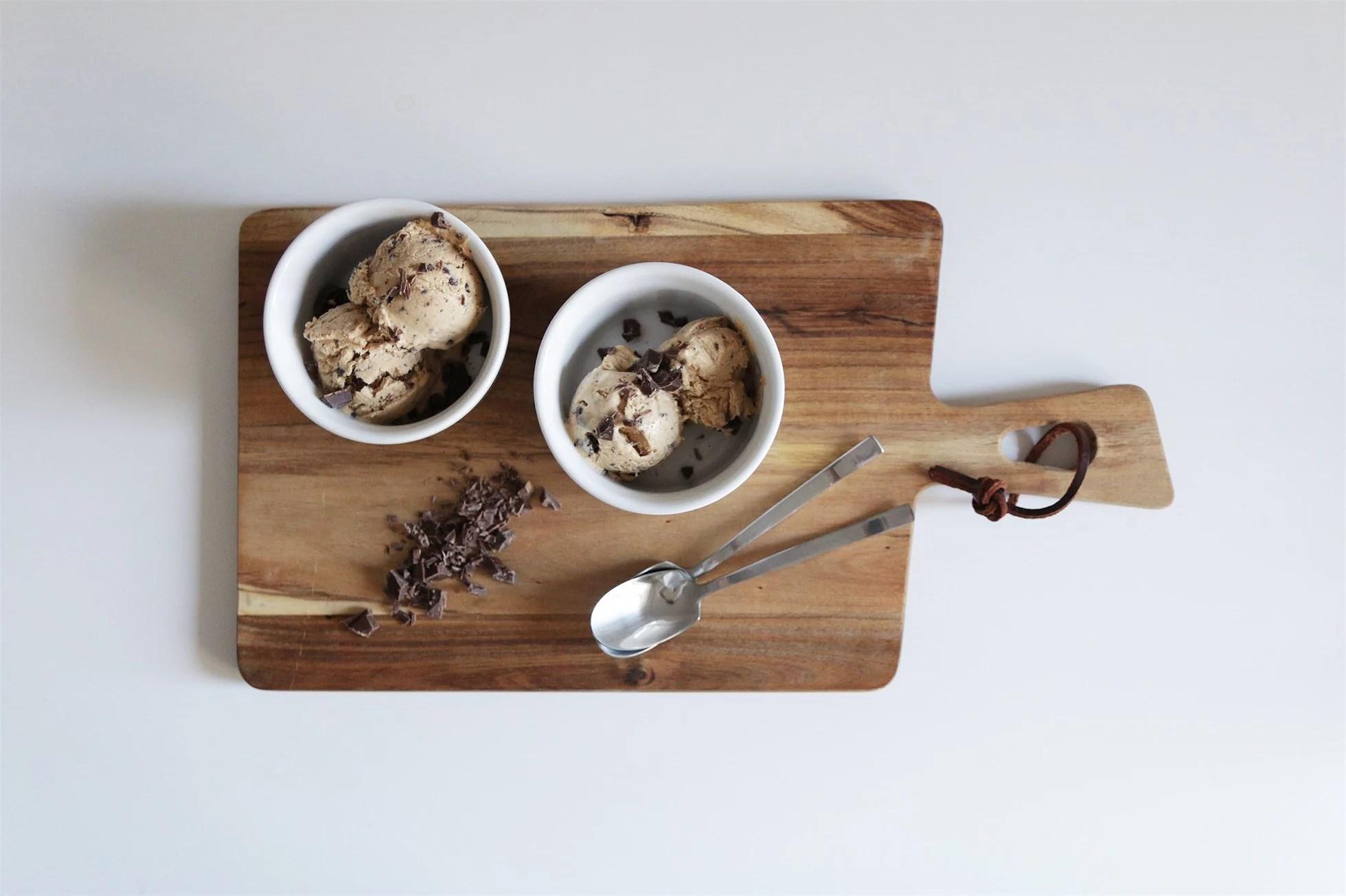 RECIPE/HOMEMADE CHOCOLATE ICE CREAM
