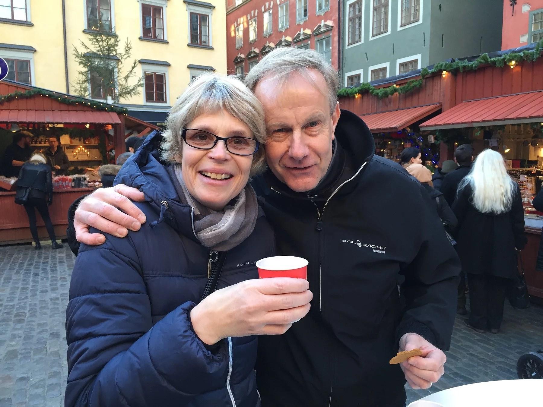 en dag med mamma och pappa på stan