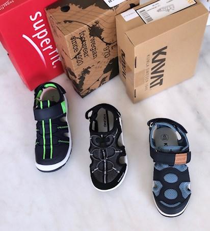 2c4d7a7695ad Sommarens sandaler; Test av Superfit, Viking och Kavat