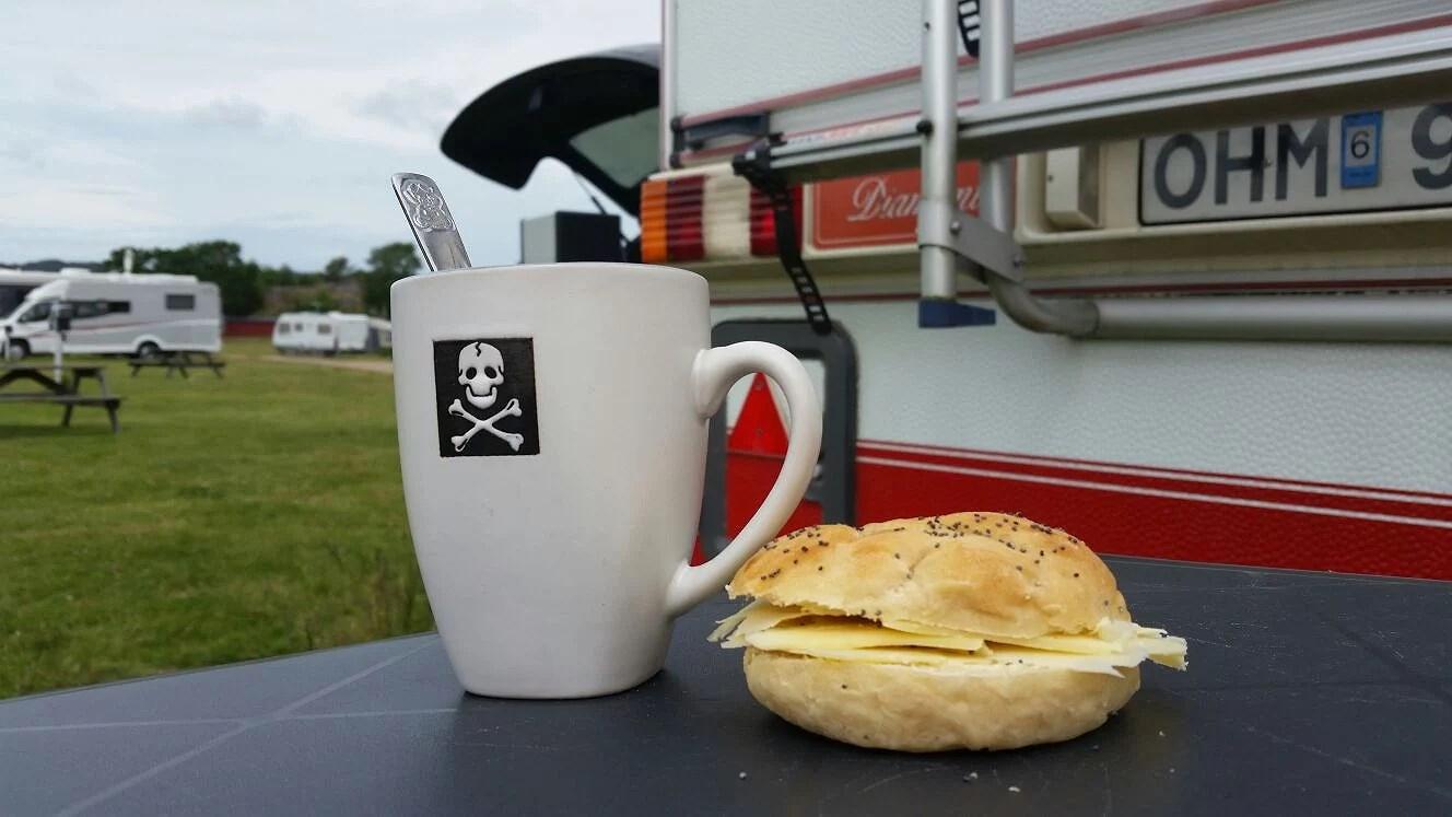 Äntligen lite campingliv!