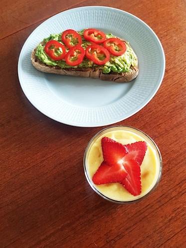 Smoothie med mango och kokos - recept