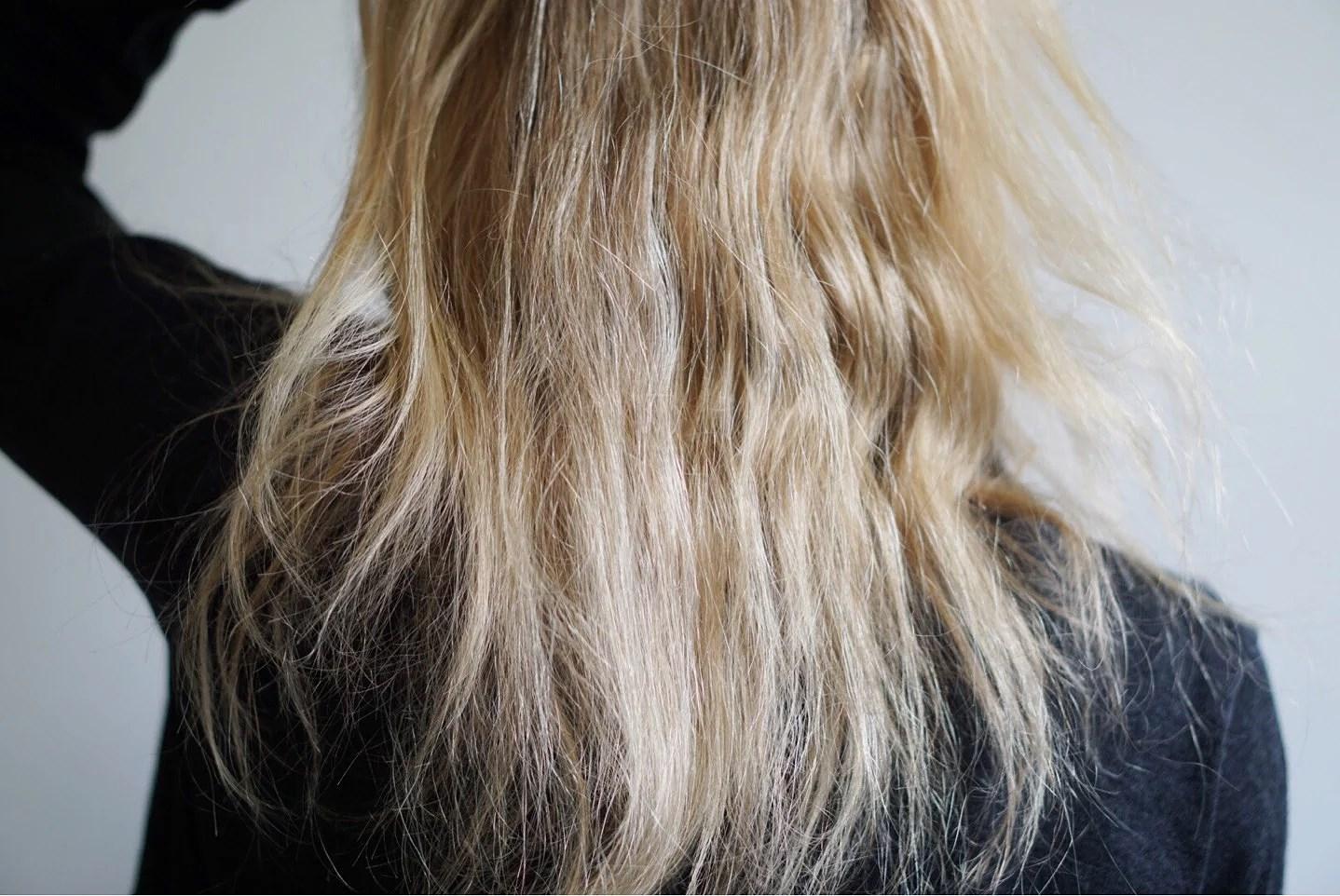 Man hatar ju inte fräscht hår