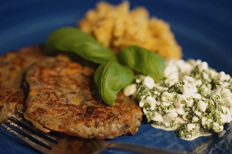 Vegetarian dinner
