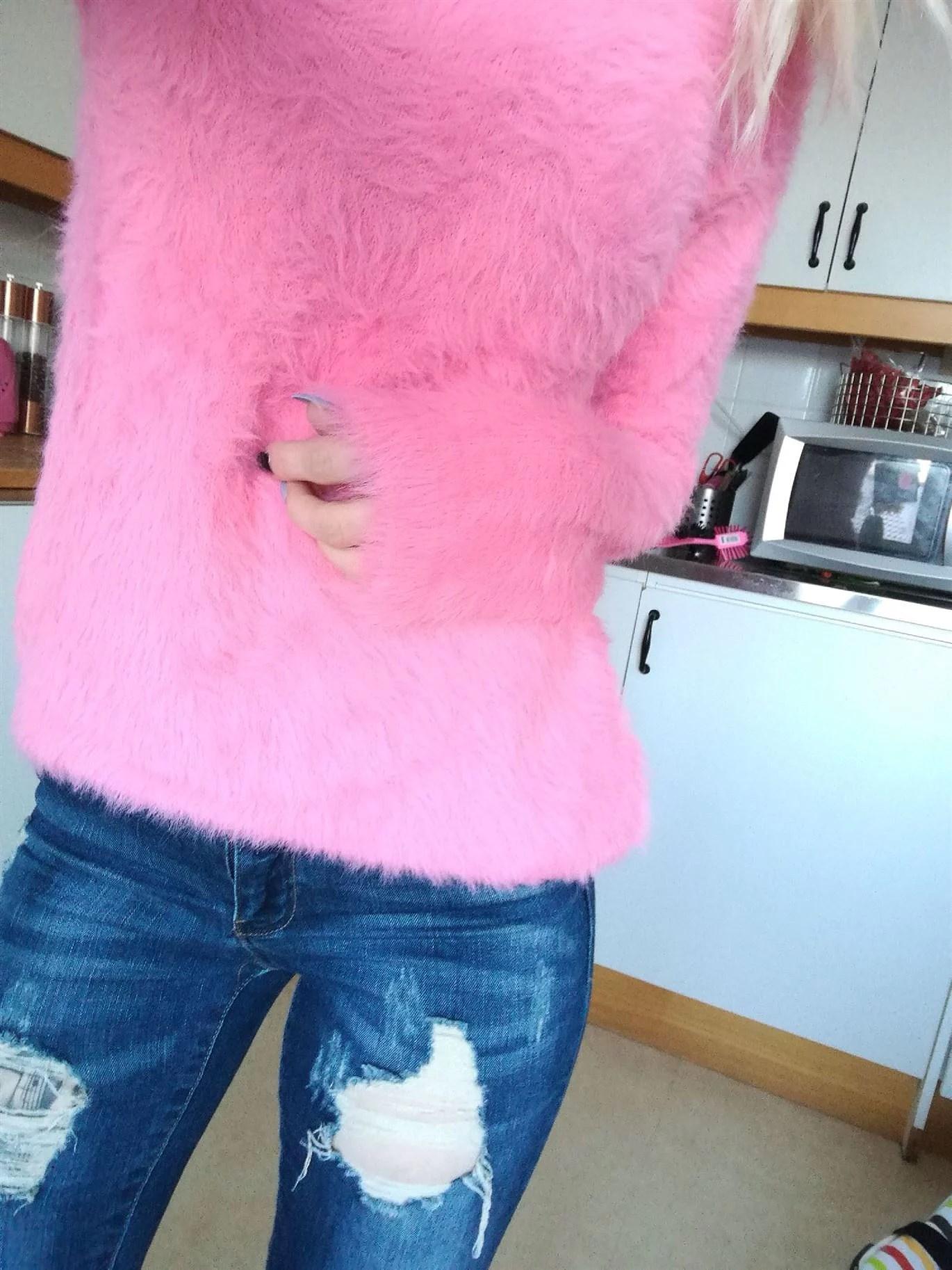 pink fluff:)