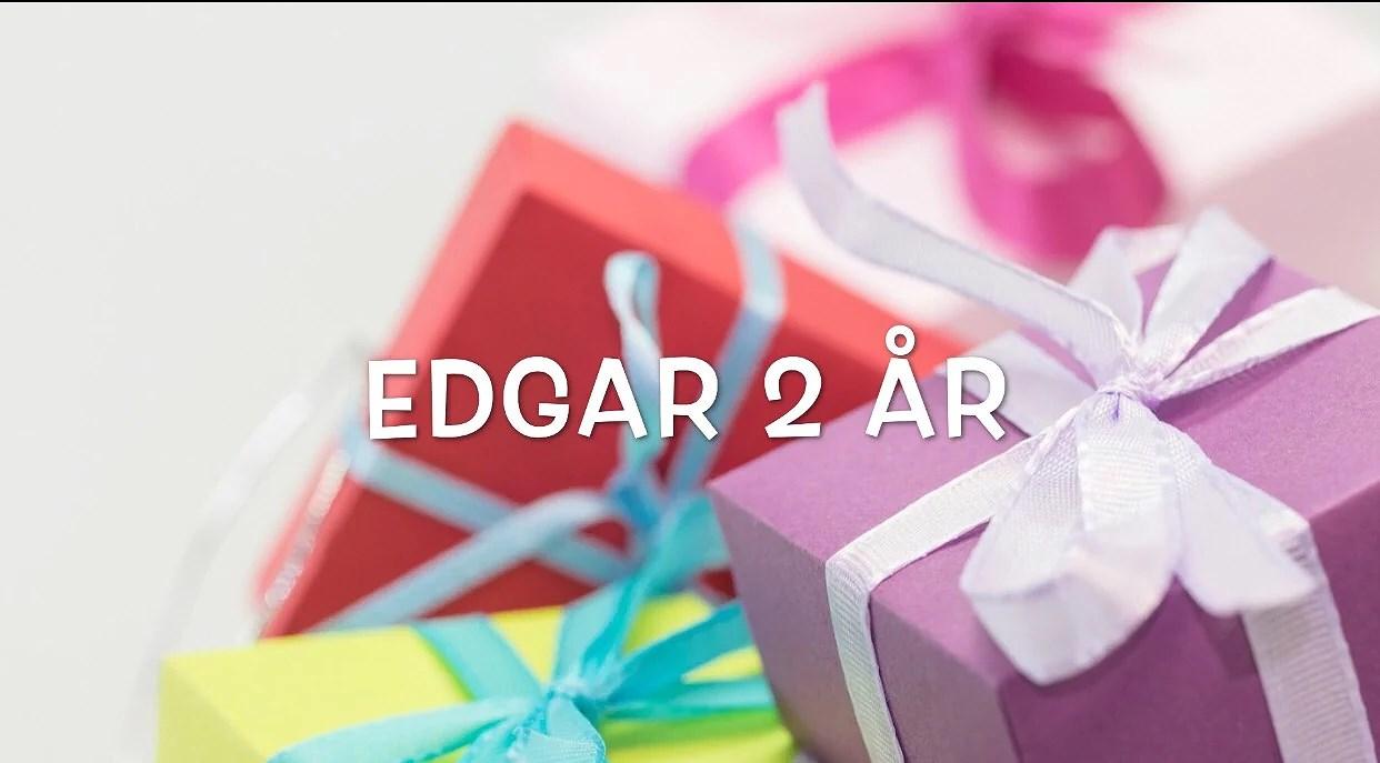 Video - Edgar 2 år!