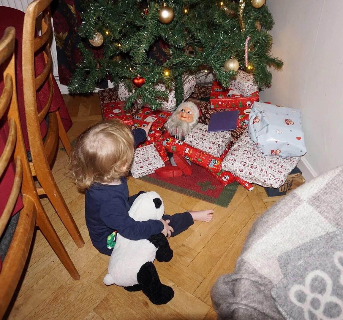 Vårt julfirande nummer 1!