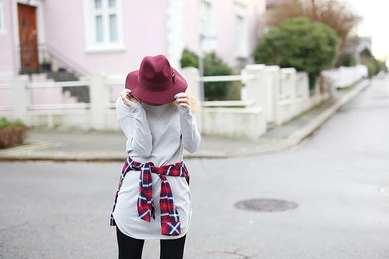 krist.in outfit shein dress shirt hatt h&M antrekk