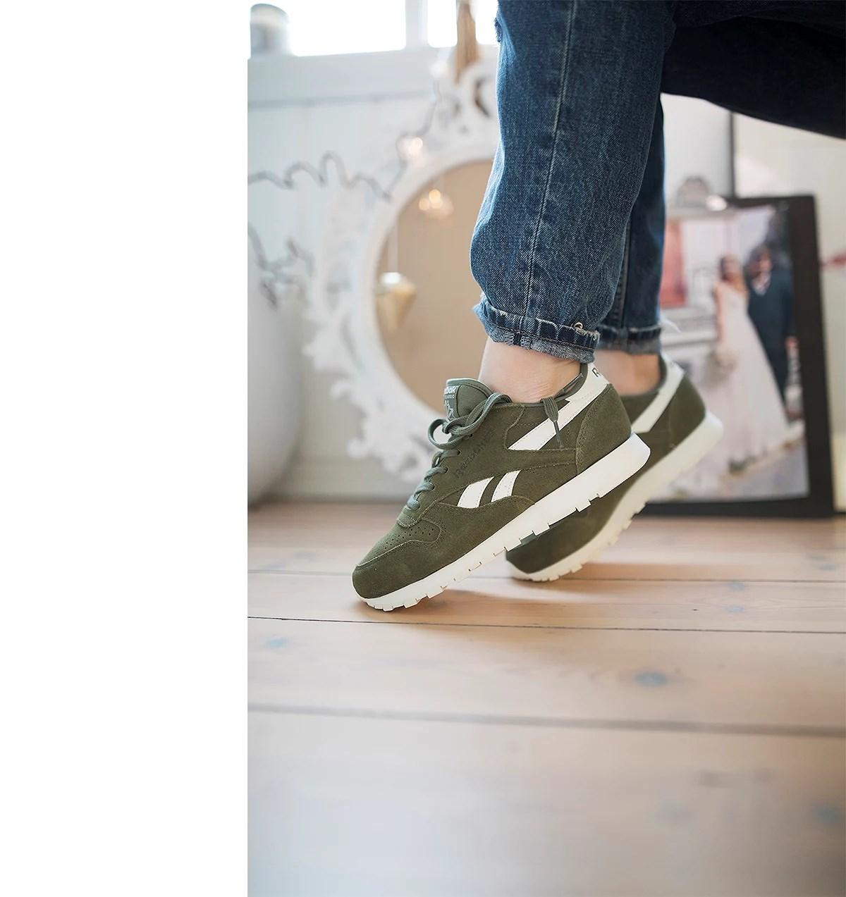 krist.in style reebok sneakers
