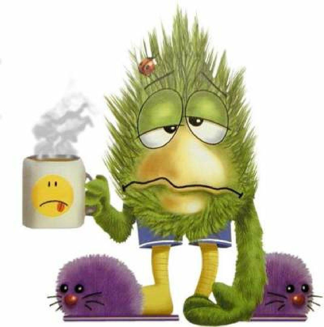 Mycket huvudvärk och trött