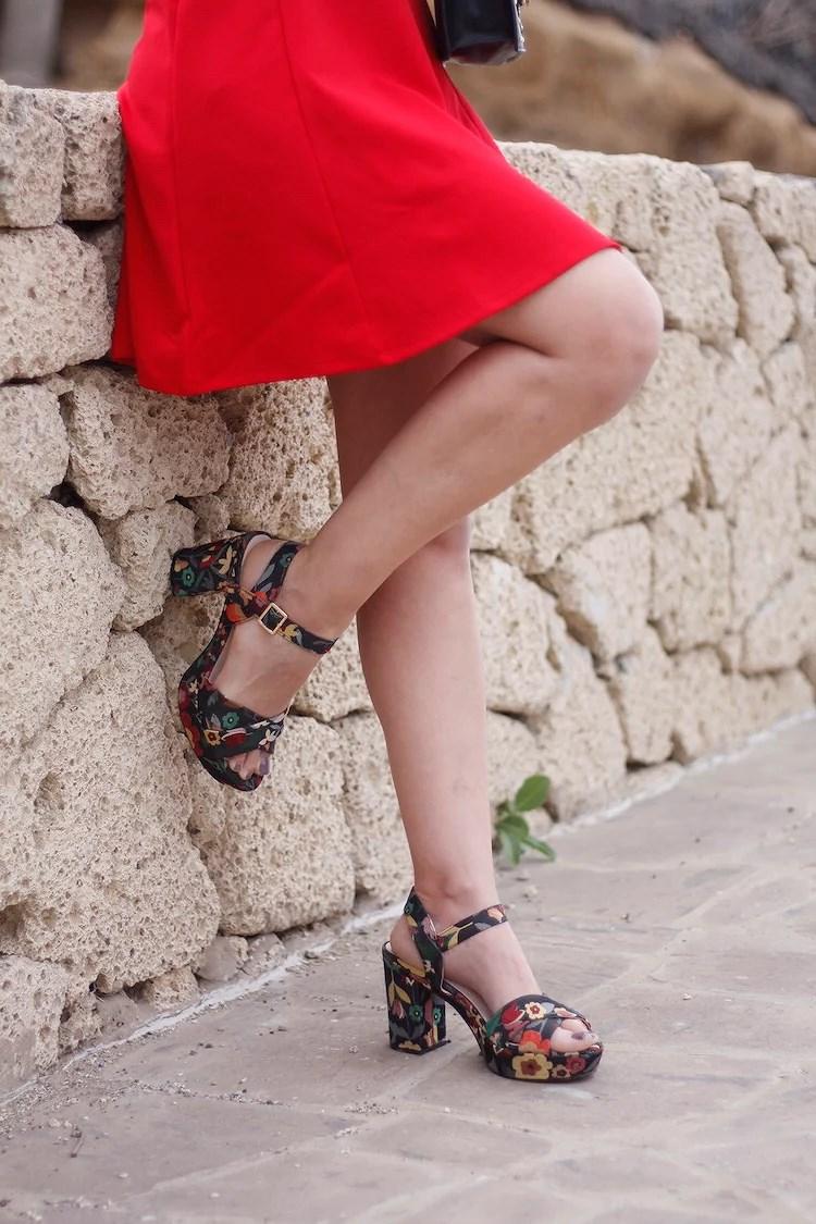 Enamorándome de los vestidos rojos